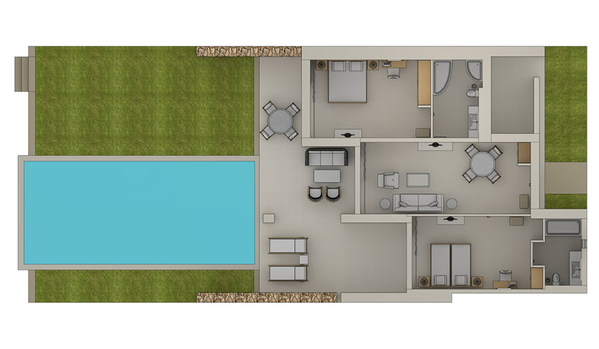 Deluxe-Two-Bedroom-Bungalow-Suite-Private-Pool-Floorplan