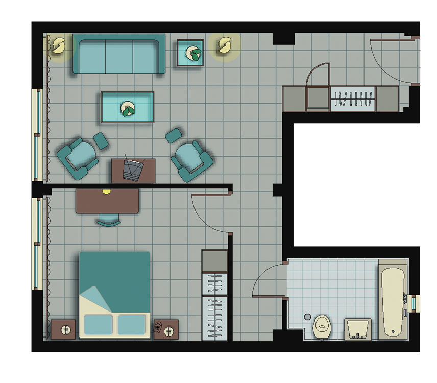 Deluxe-one-bedroom-floorplan-oceania