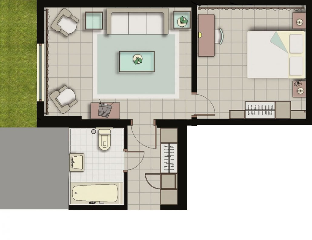 one-bedroom-family-suite-oceania-floorplan-garden2